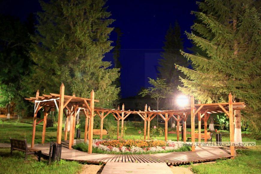 Borsec 18 - Parcul Millenium noaptea