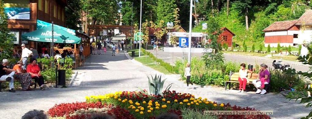 Borsec 20 - alee parc